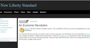 Eerste wisselkoers Bitcoin