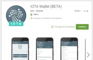 IOTA kopen en wallets