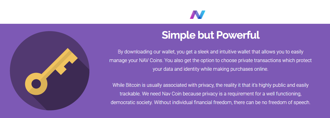 Nav Coin informatie