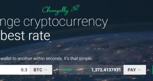 TenX kopen Changelly Exchange