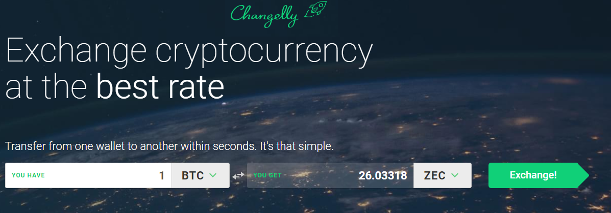 Zcash omwisselen changelly