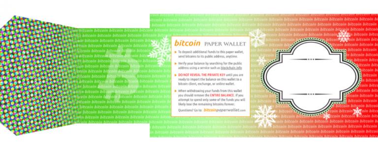 Cryptocurrency kerstcadeau