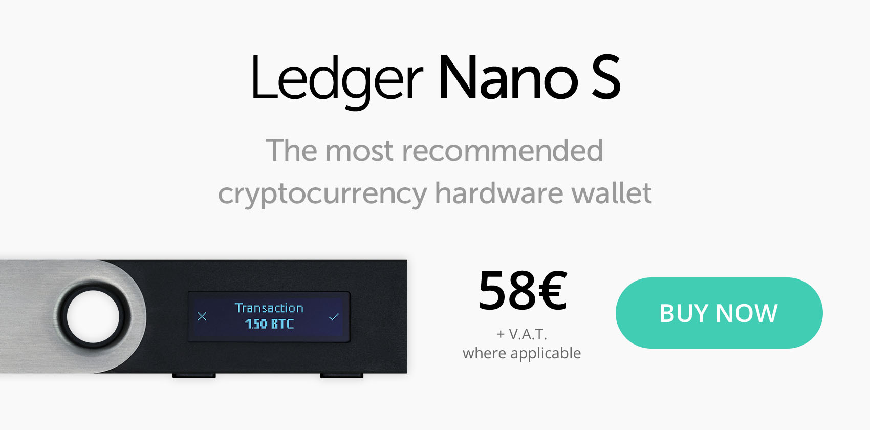 Ledger Nano kopen