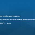 Bitvavo gebruikerspanel
