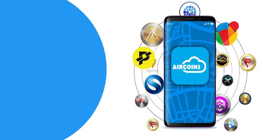 Aircoins app