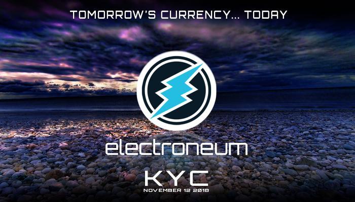 KYC electroneum