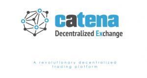 Catena decentralized exchange