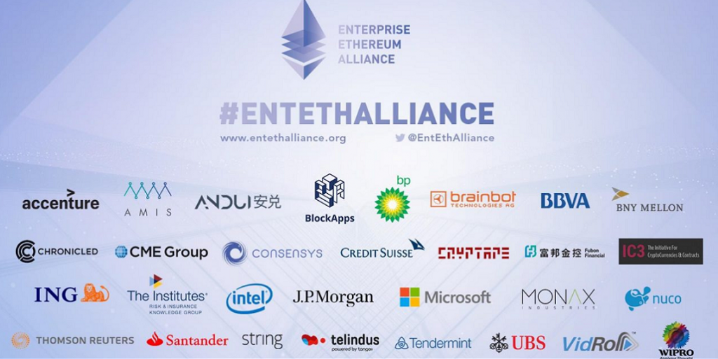 Ethereum partners