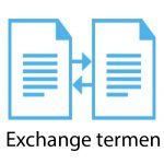 Exchange termen kennisbank
