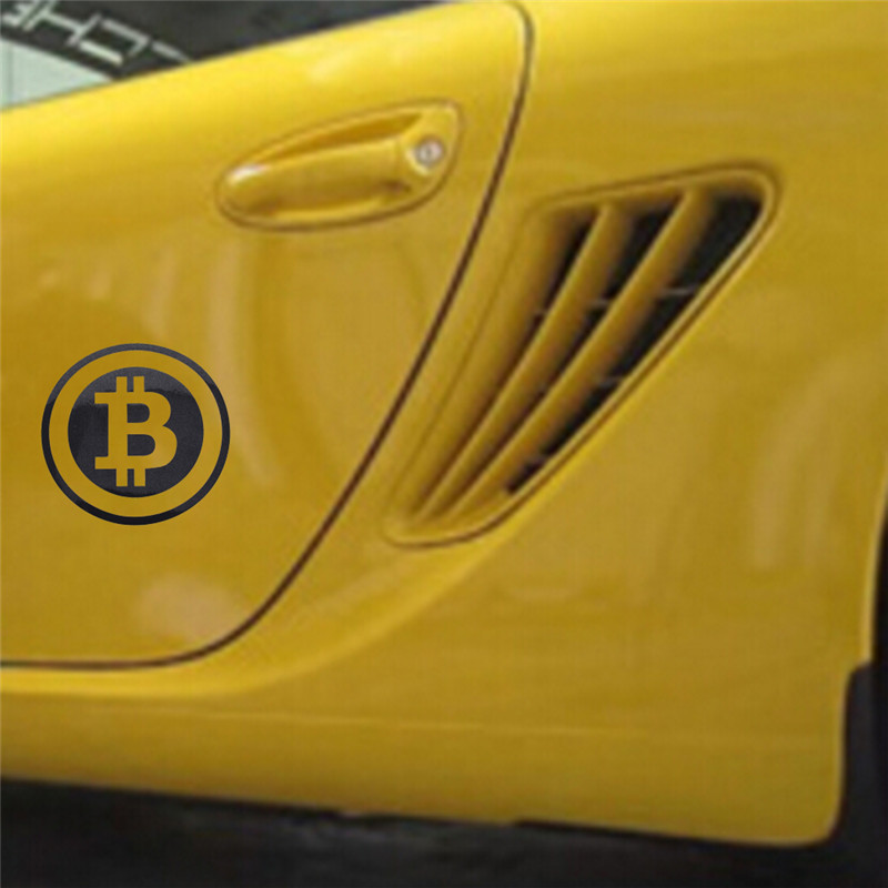 Bitcoin autosticker