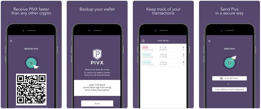 PIVX mobile wallet