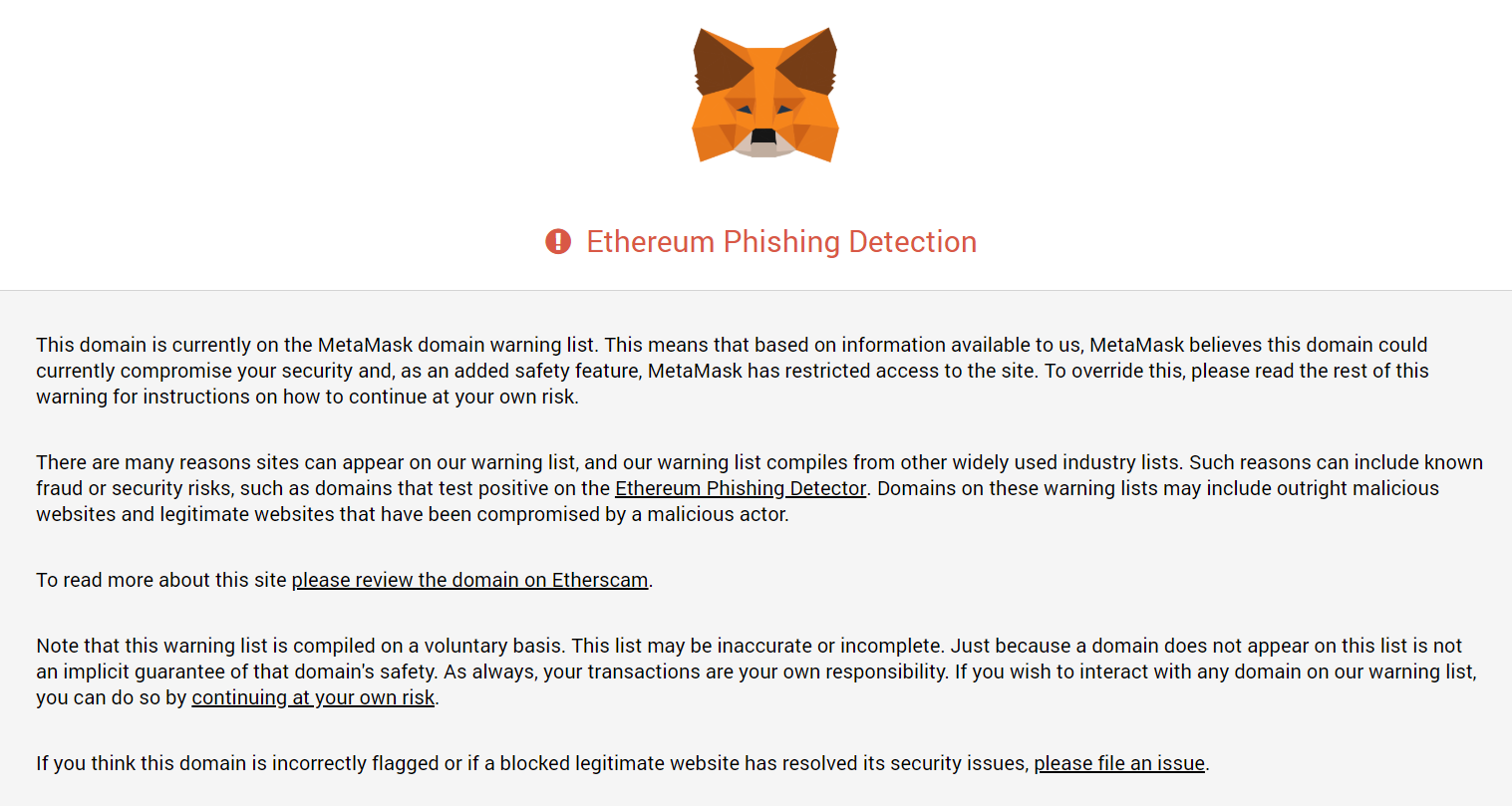 Ethereum Phising SpectrumNetwork