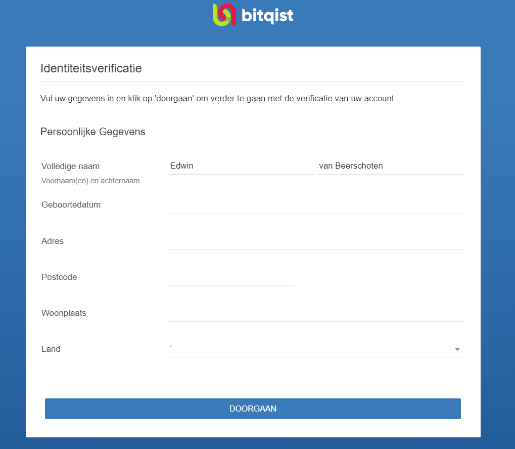 Bitqist verificatie