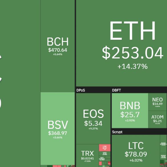 Bitcoin en altcoins 2020 februari stijging